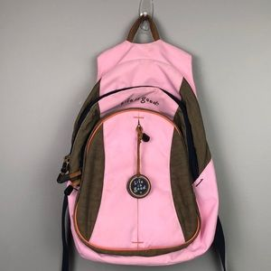 Life is Good Pink Backpack